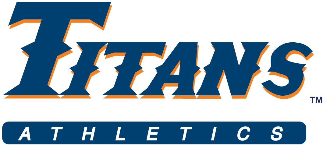 Cal State Fullerton Titans Logo Wordmark Logo (1992-1999) -  SportsLogos.Net