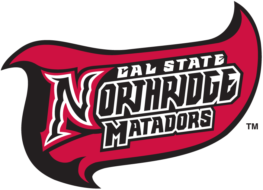 Cal State Northridge Matadors Logo Wordmark Logo (1999-2013) -  SportsLogos.Net