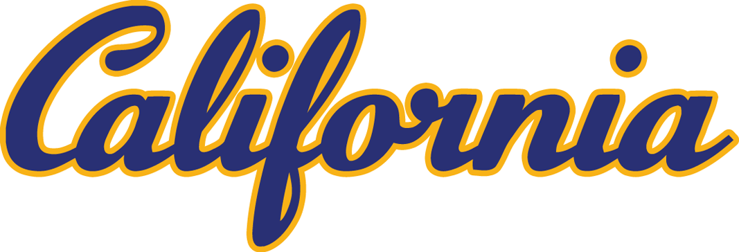 California Golden Bears Logo Wordmark Logo (1992-Pres) - California script SportsLogos.Net
