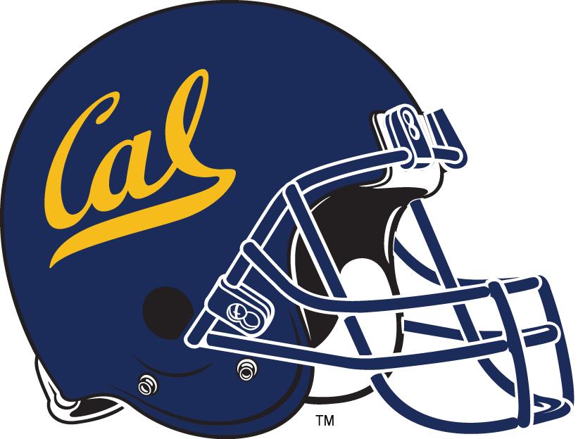 California Golden Bears Helmet Helmet (1987-Pres) - Yellow Cal logo on all-navy helmet SportsLogos.Net