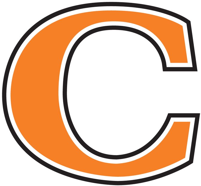 Campbell Fighting Camels Logo Partial Logo (2005-2007) - Orange C SportsLogos.Net