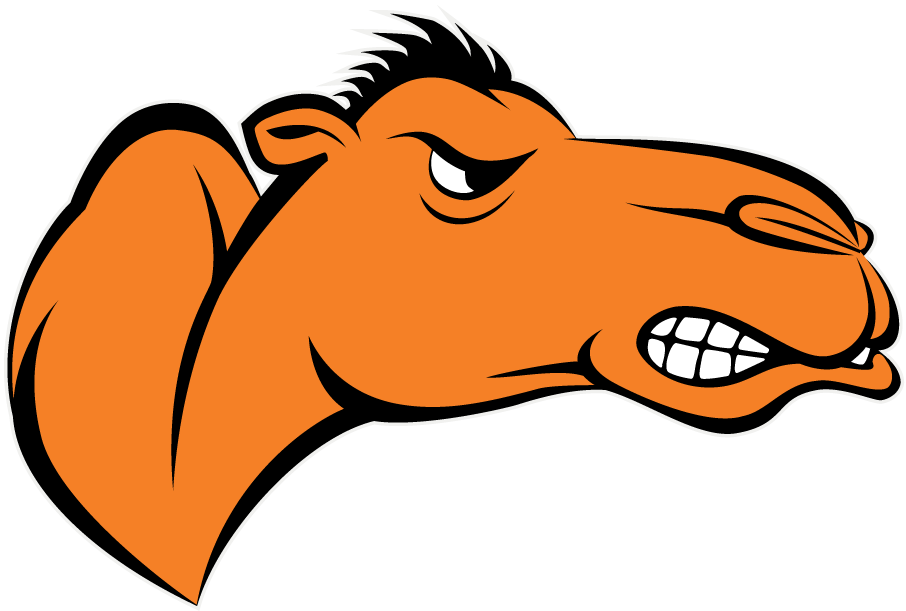 Campbell Fighting Camels Logo Partial Logo (2005-Pres) - Orange Camels head with hump SportsLogos.Net