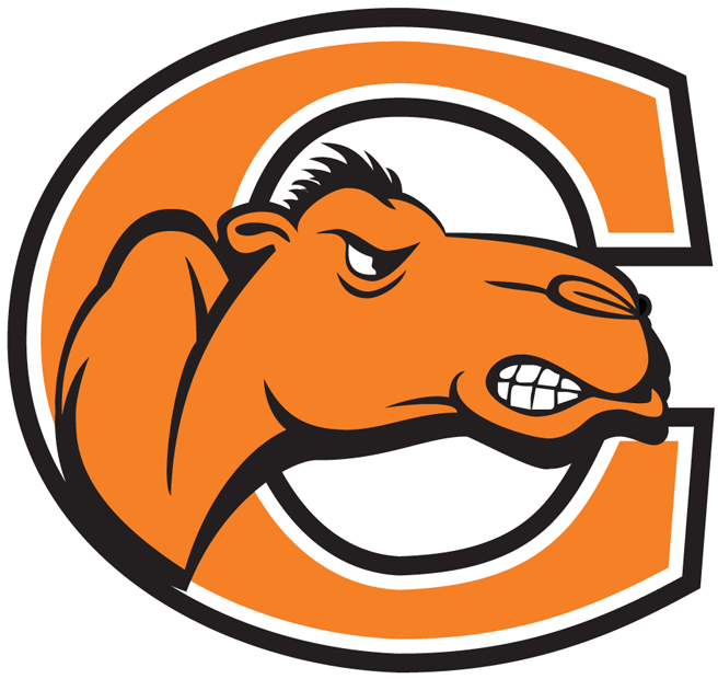 Campbell Fighting Camels Logo Primary Logo (2005-2007) - Camels head with orange C SportsLogos.Net