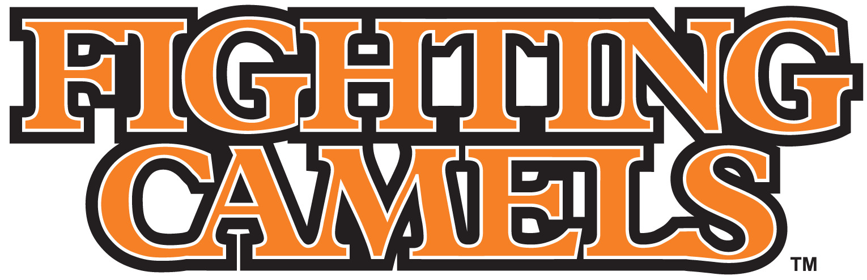 Campbell Fighting Camels Logo Wordmark Logo (2005-2007) -  SportsLogos.Net
