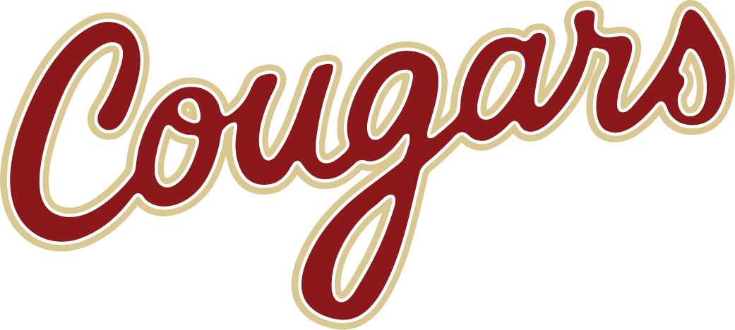 College of Charleston Cougars Logo Wordmark Logo (2013-Pres) -  SportsLogos.Net