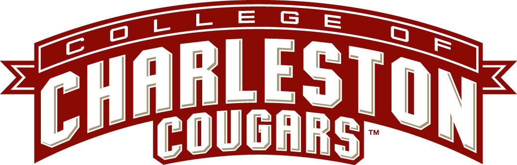 College of Charleston Cougars Logo Wordmark Logo (2003-2012) -  SportsLogos.Net