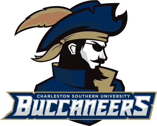 CSU Buccaneers Logo Alternate Logo (2019-Pres) - Pirate with a beard wearing a feathered hat above team name SportsLogos.Net