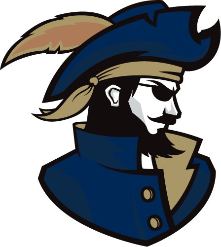 CSU Buccaneers Logo Alternate Logo (2019-Pres) - Pirate with a beard wearing a feathered hat SportsLogos.Net