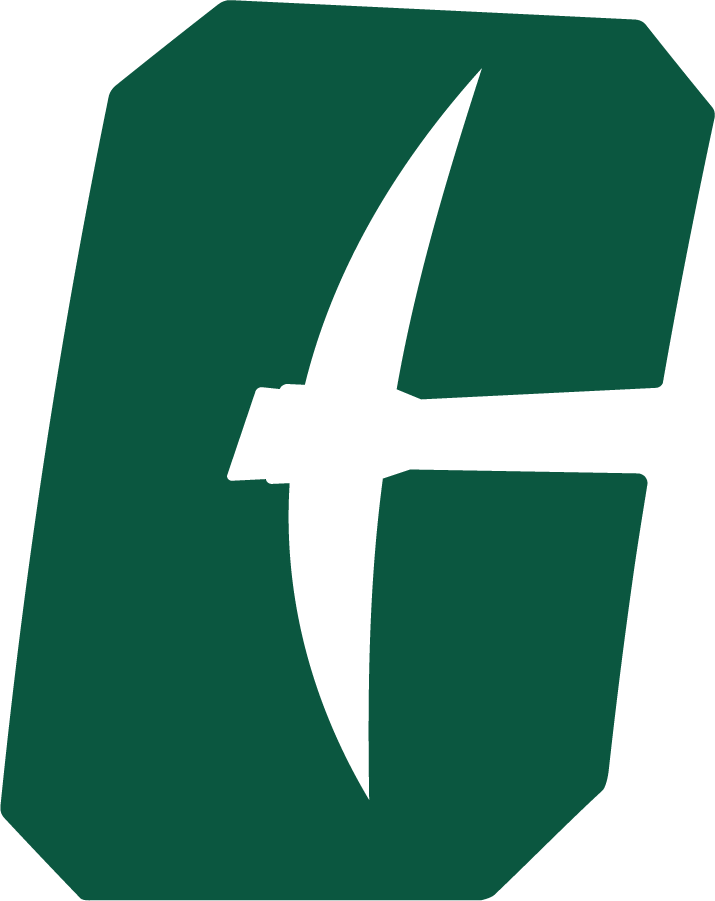 Charlotte 49ers Logo Primary Logo (2020-Pres) - Referred to as the