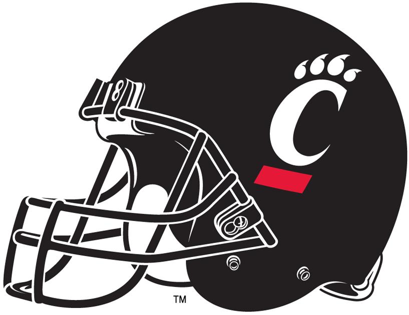 Cincinnati Bearcats Helmet Ncaa Division I A C Ncaa A C Chris Creamer S Sports Logos Page Sportslogos Net