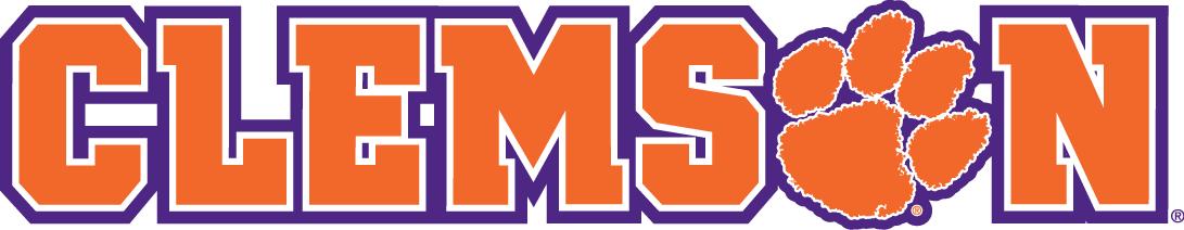 Clemson Tigers Logo Wordmark Logo (2014-Pres) -  SportsLogos.Net