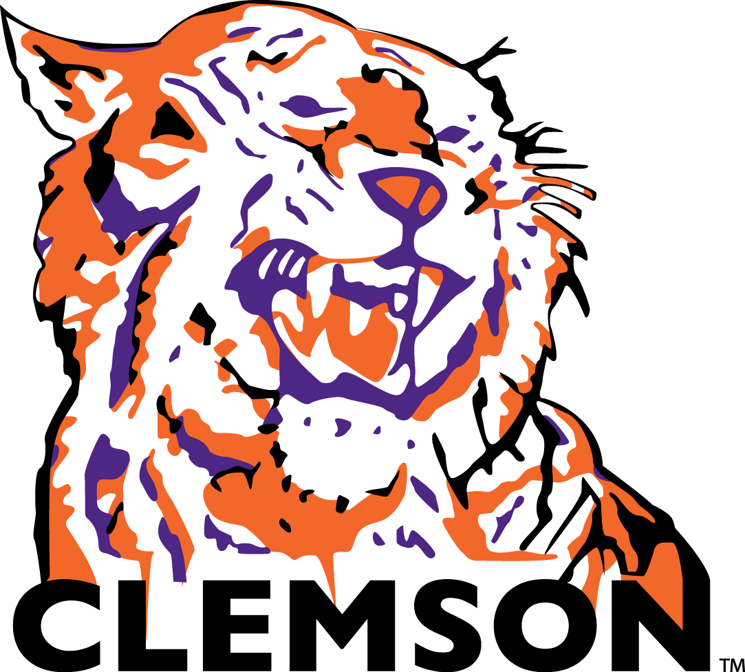 Clemson Tigers Logo Primary Logo (1970-1976) -  SportsLogos.Net