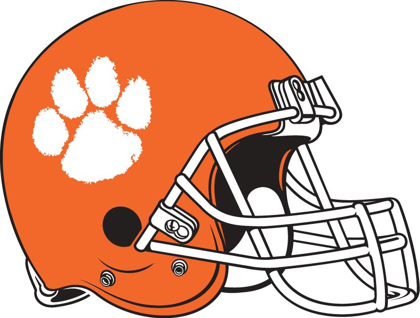 Clemson Tigers Helmet Helmet (1976) -  SportsLogos.Net