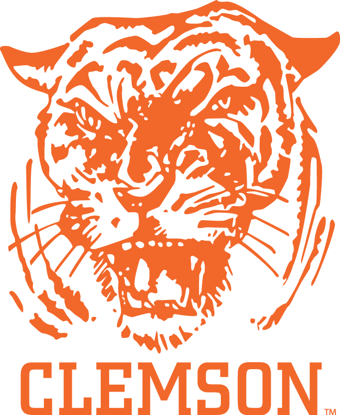 Clemson Tigers Logo Primary Logo (1965-1969) -  SportsLogos.Net