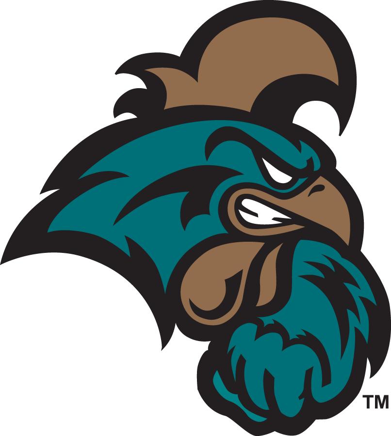 Coastal Carolina Chanticleers Logo Primary Logo (2016-Pres) -  SportsLogos.Net