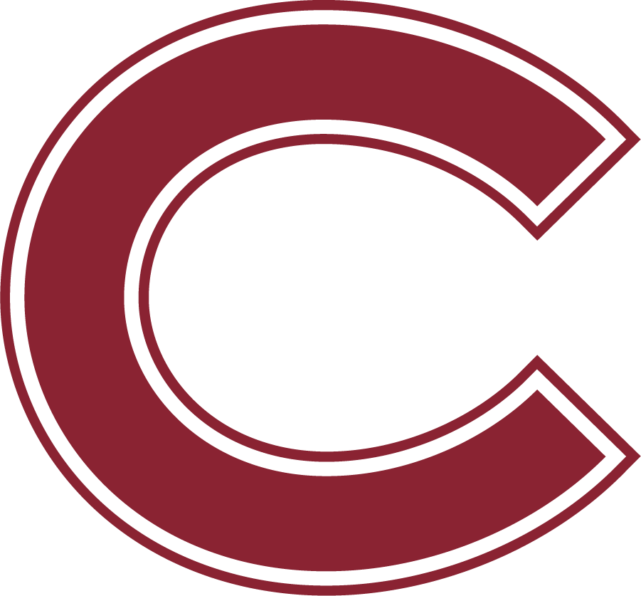 Colgate Raiders Logo Primary Logo (2020-Pres) - The centerpiece of Colgate's new athletics branding for 2020 remains the 'C', inspired by the cover of the 1904 Salmagundi school yearbook. Track and field athletes brandished that C and Colgate had its first athletics logo more than 100 years prior to the release of the 2020 update. SportsLogos.Net