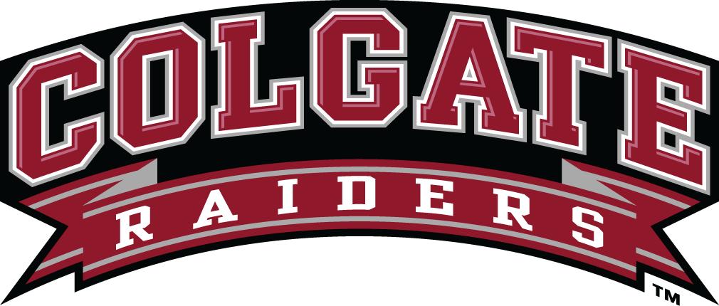 Colgate Raiders Logo Wordmark Logo (2002-2019) -  SportsLogos.Net