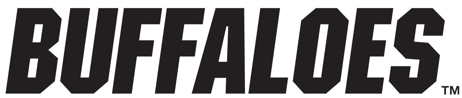 Colorado Buffaloes Logo Wordmark Logo (2006-Pres) -  SportsLogos.Net