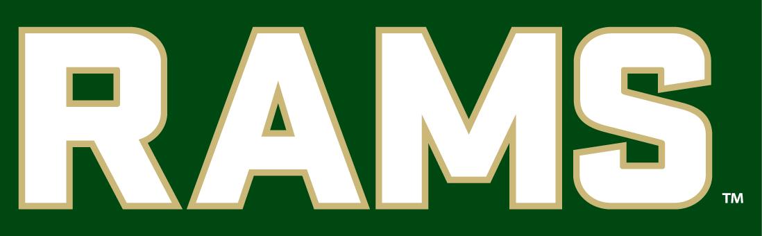 Colorado State Rams Logo Wordmark Logo (2015-Pres) -  SportsLogos.Net