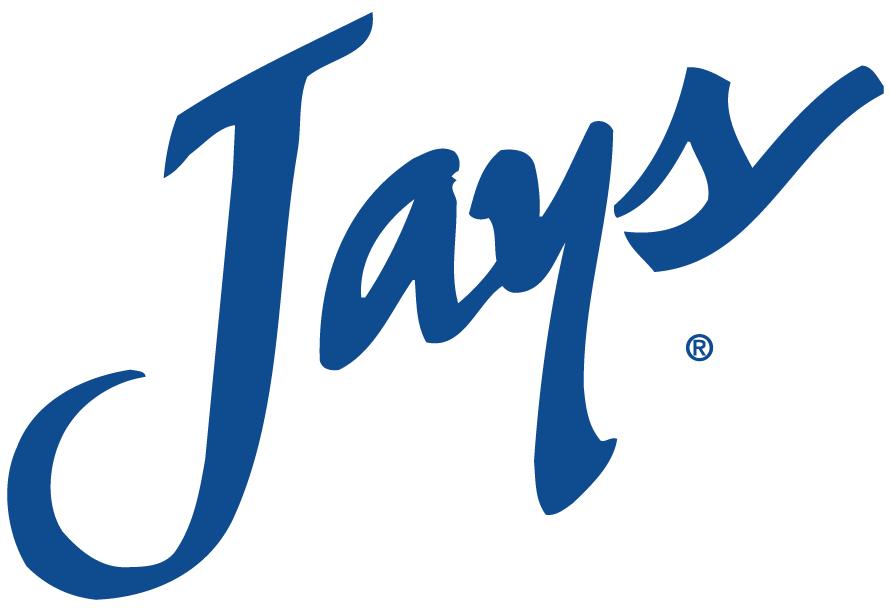 Creighton Bluejays Logo Primary Logo (1999-2012) - Jays scripted in blue SportsLogos.Net