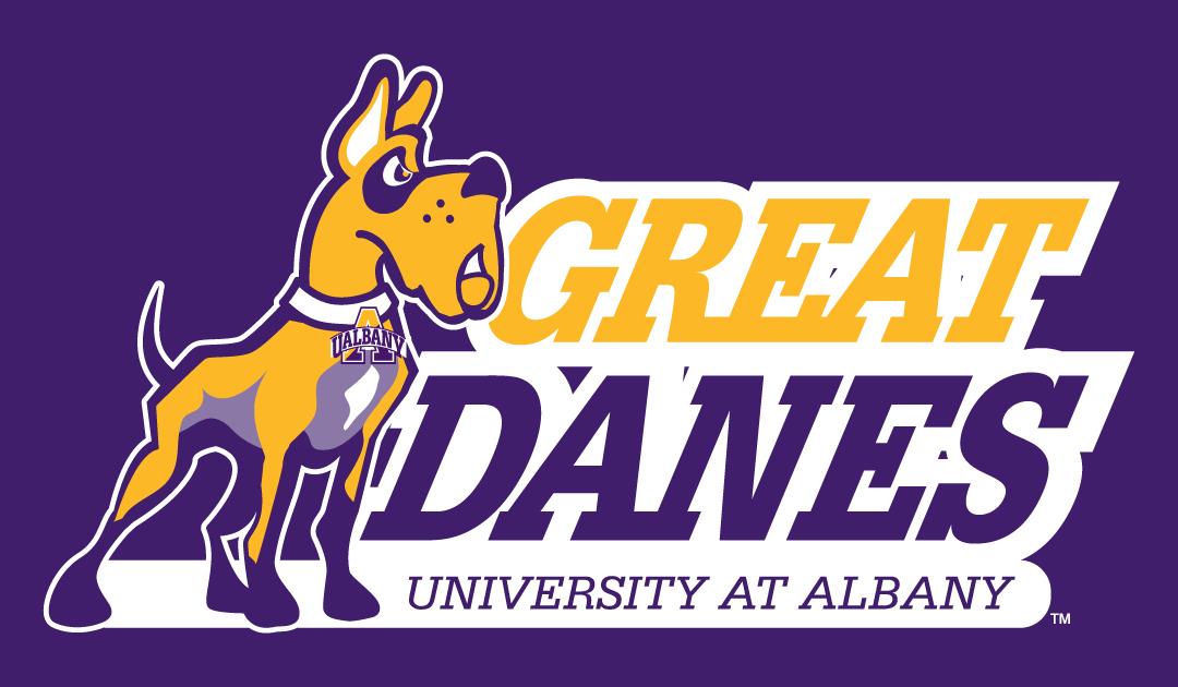 Albany Great Danes Logo Primary Dark Logo (2001-2007) -  SportsLogos.Net