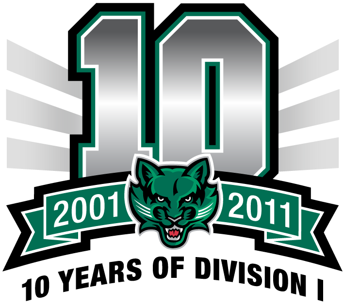Binghamton Bearcats Logo Anniversary Logo (2011) -  SportsLogos.Net