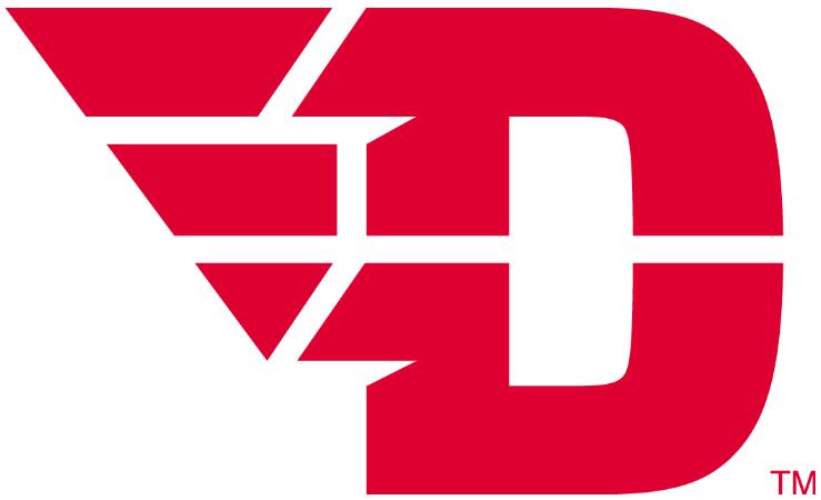 Dayton Flyers Logo Primary Logo (2015-Pres) -  SportsLogos.Net
