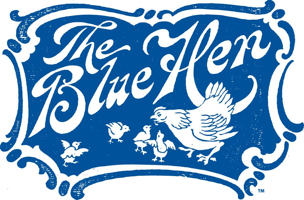 Delaware Blue Hens Logo Primary Logo (1939-1954) -  SportsLogos.Net