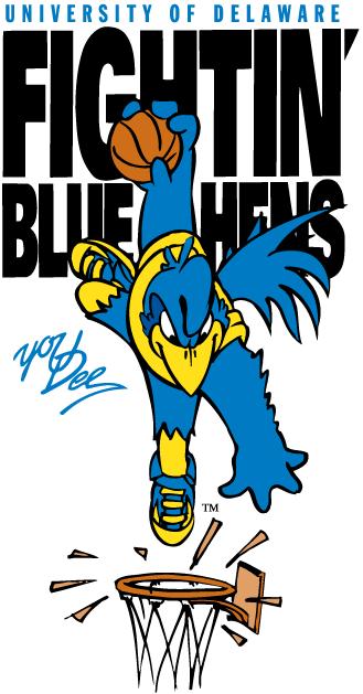 Delaware Blue Hens Logo Mascot Logo (1999-Pres) -  SportsLogos.Net