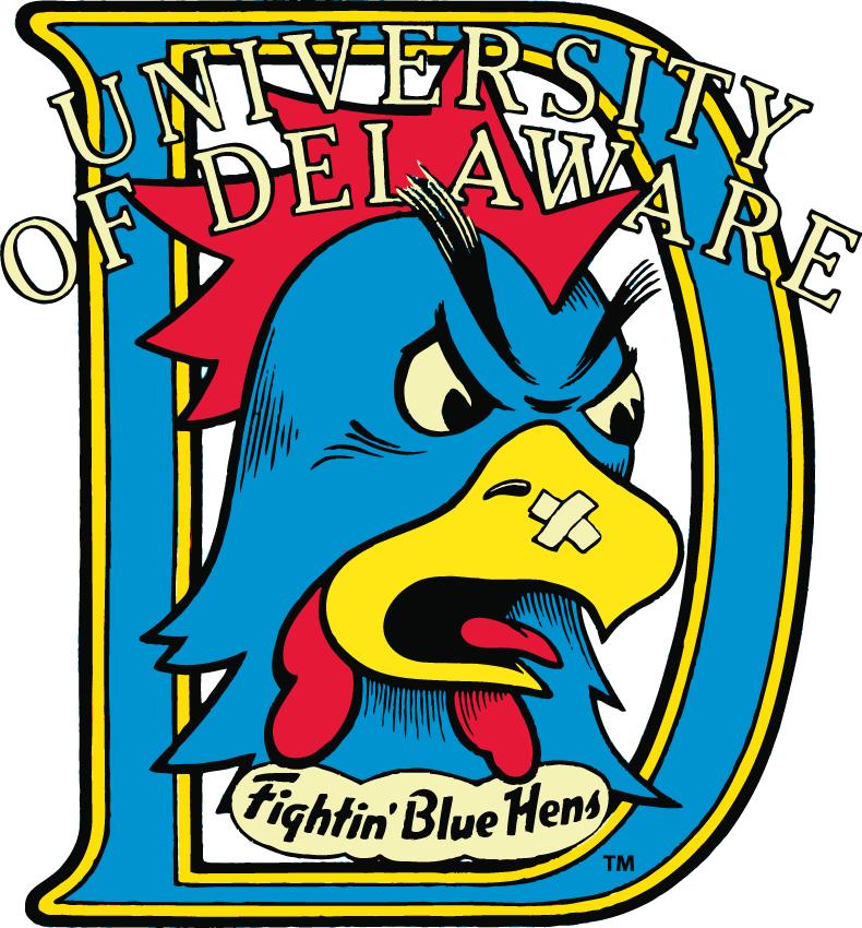 Delaware Blue Hens Logo Primary Logo (1987-1998) -  SportsLogos.Net