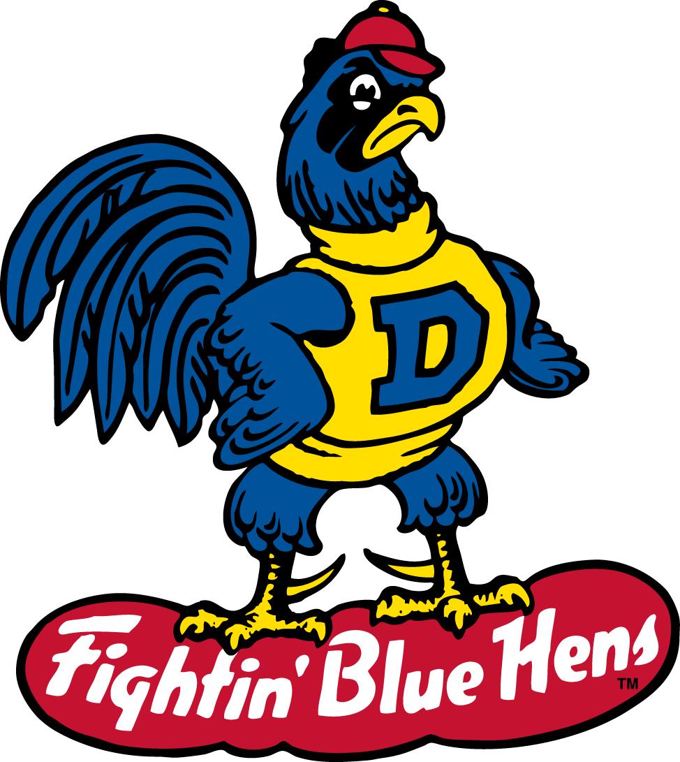 Delaware Blue Hens Logo Primary Logo (1967-1986) -  SportsLogos.Net
