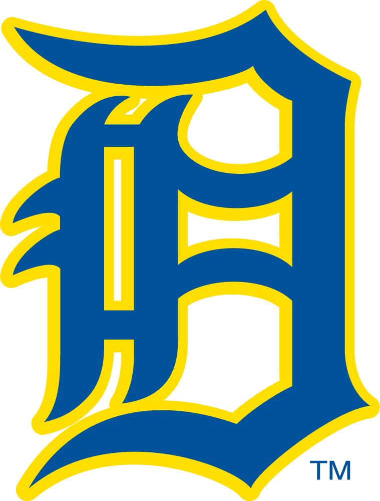 Delaware Blue Hens Logo Primary Logo (1955-1966) -  SportsLogos.Net