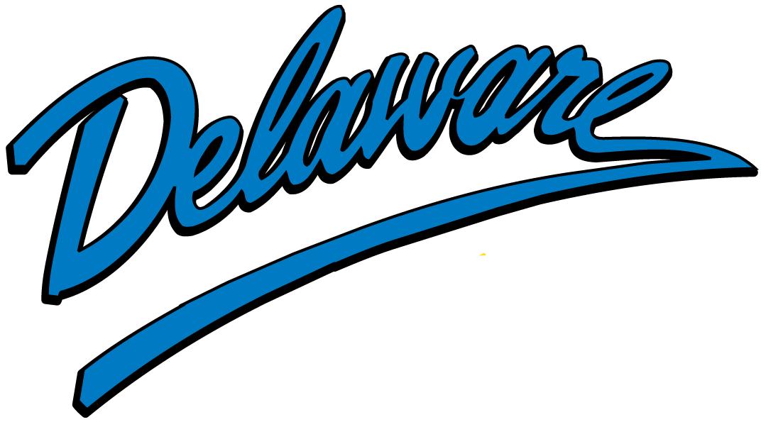 Delaware Blue Hens Logo Wordmark Logo (1999-Pres) -  SportsLogos.Net