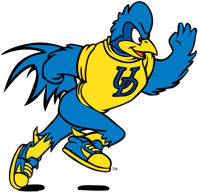 Delaware Blue Hens Logo Mascot Logo (1999-Pres) - Jogging YoUDee SportsLogos.Net