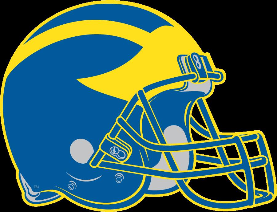 Delaware Blue Hens Helmet Helmet (1999-2008) - Yellow \\\