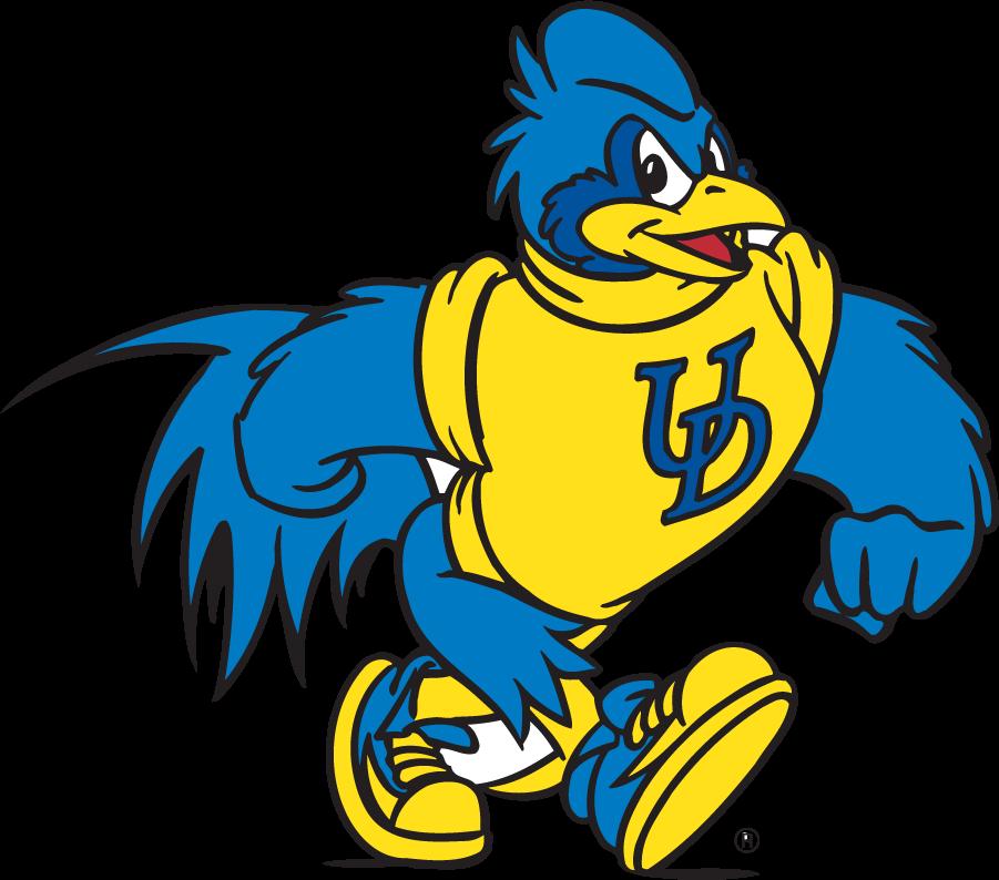 Delaware Blue Hens Logo Mascot Logo (1999-2009) - Struttin\' YoUDee SportsLogos.Net