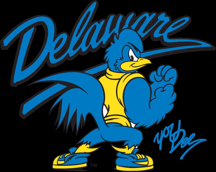 Delaware Blue Hens Logo Mascot Logo (1999-2009) - Fightin YoUDee SportsLogos.Net