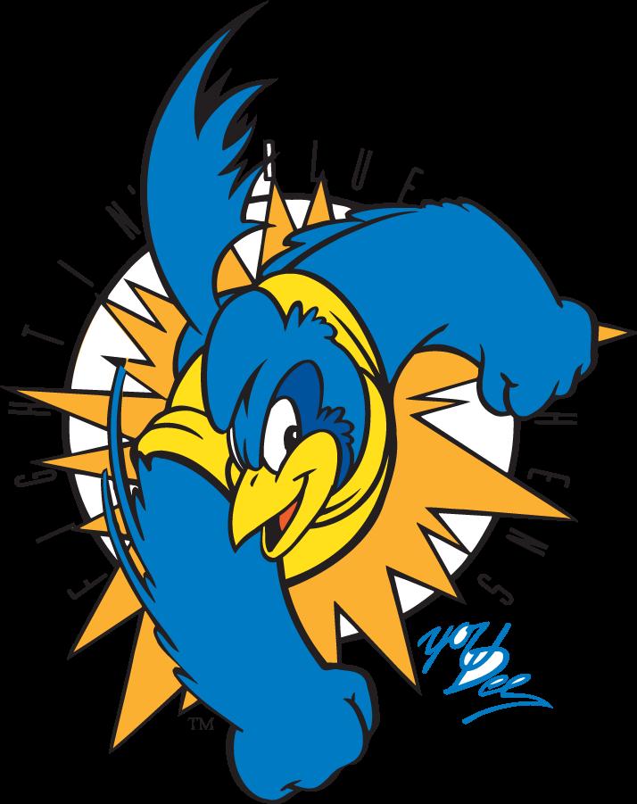 Delaware Blue Hens Logo Mascot Logo (1999-2009) - Punching YoUDee SportsLogos.Net