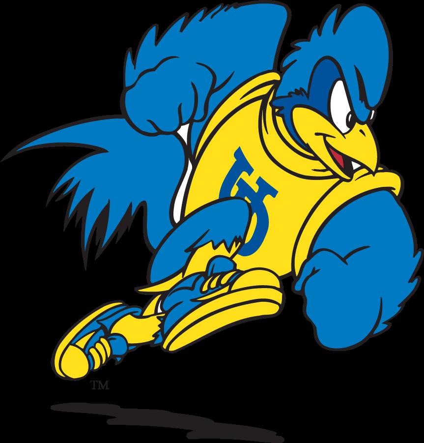 Delaware Blue Hens Logo Mascot Logo (1999-2009) - Running YoUDee SportsLogos.Net