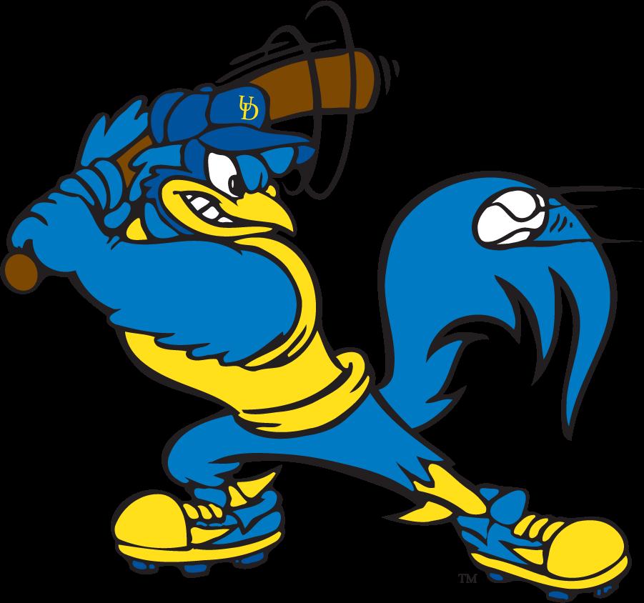 Delaware Blue Hens Logo Mascot Logo (1999-2009) - Baseball YoUDee SportsLogos.Net