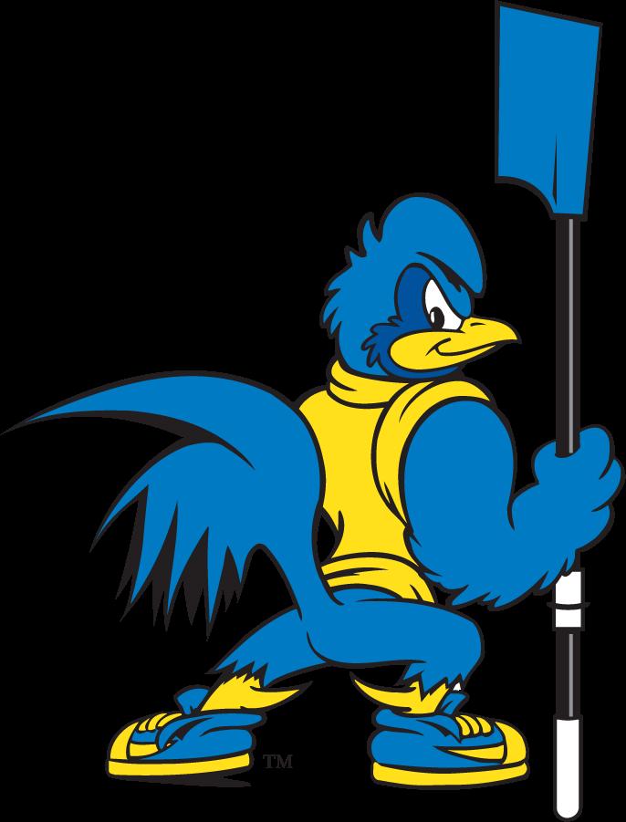 Delaware Blue Hens Logo Mascot Logo (1999-2009) - Rowing YoUDee SportsLogos.Net