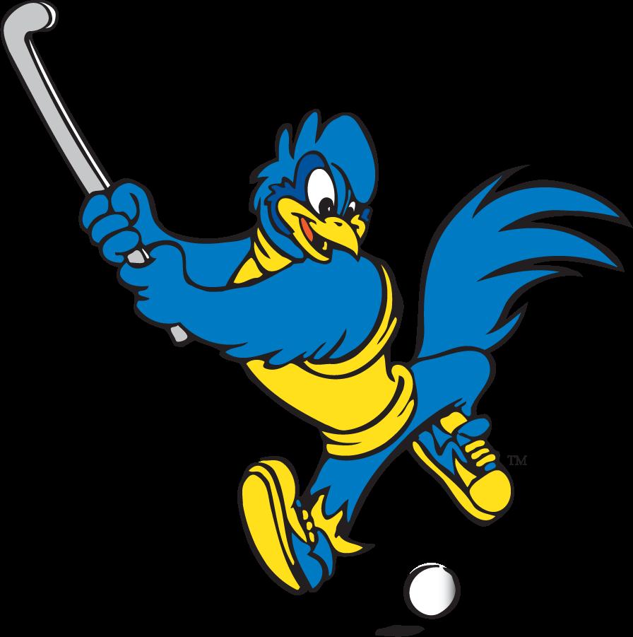 Delaware Blue Hens Logo Mascot Logo (1999-2009) - Field Hockey YoUDee SportsLogos.Net