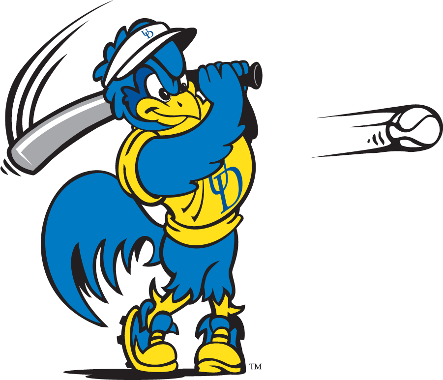 Delaware Blue Hens Logo Mascot Logo (1999-2009) - Softball YoUDee SportsLogos.Net