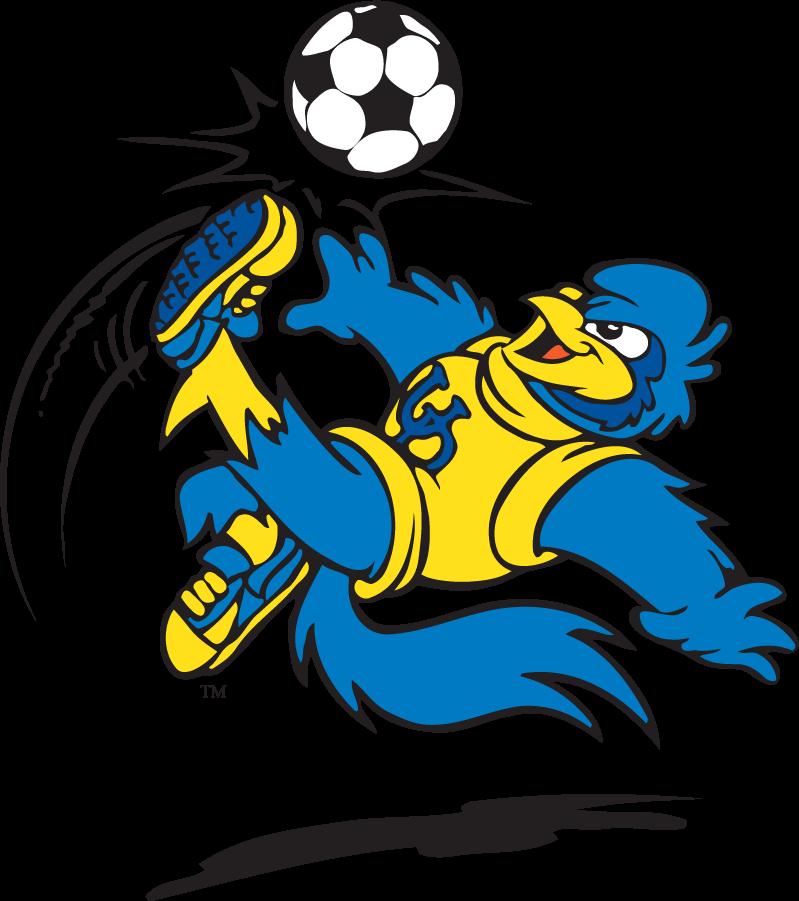 Delaware Blue Hens Logo Mascot Logo (1999-2009) - Soccer YoUDee SportsLogos.Net