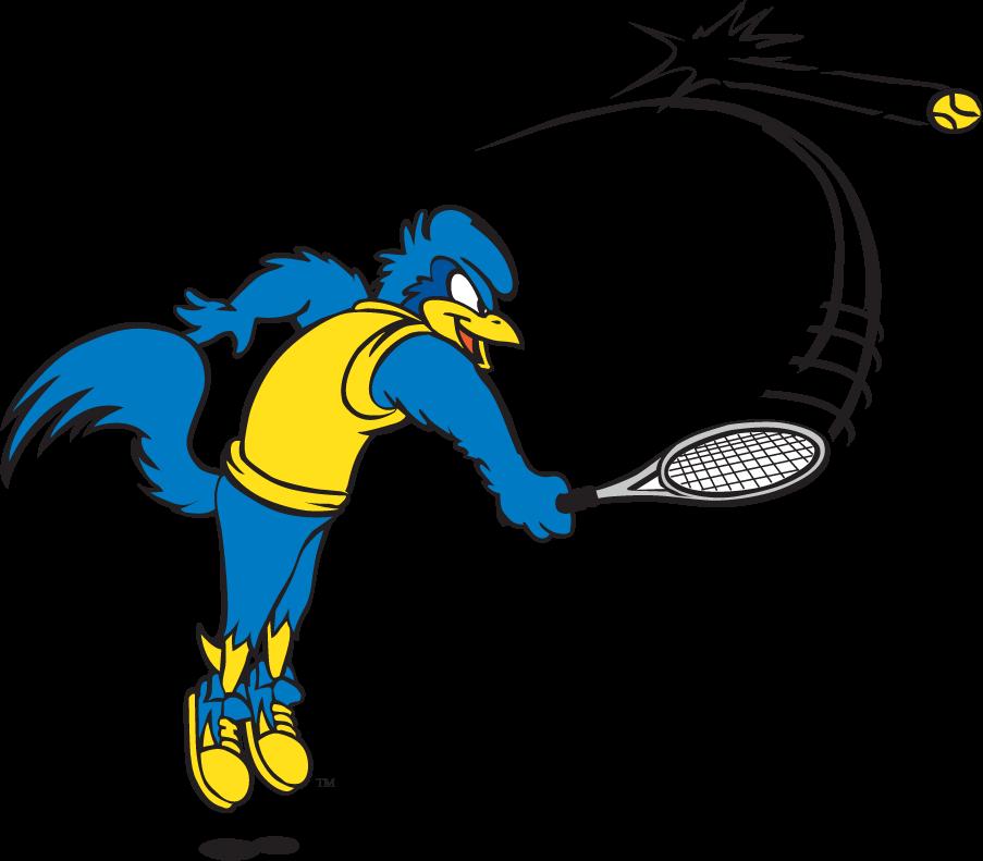 Delaware Blue Hens Logo Mascot Logo (1999-2009) - Tennis YoUDee SportsLogos.Net