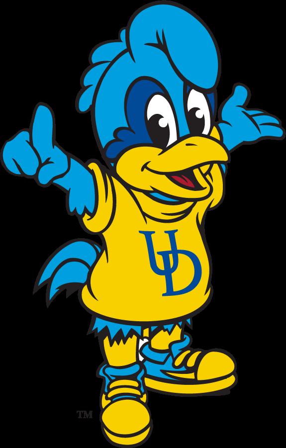 Delaware Blue Hens Logo Mascot Logo (2009-2018) - Baby Blue SportsLogos.Net