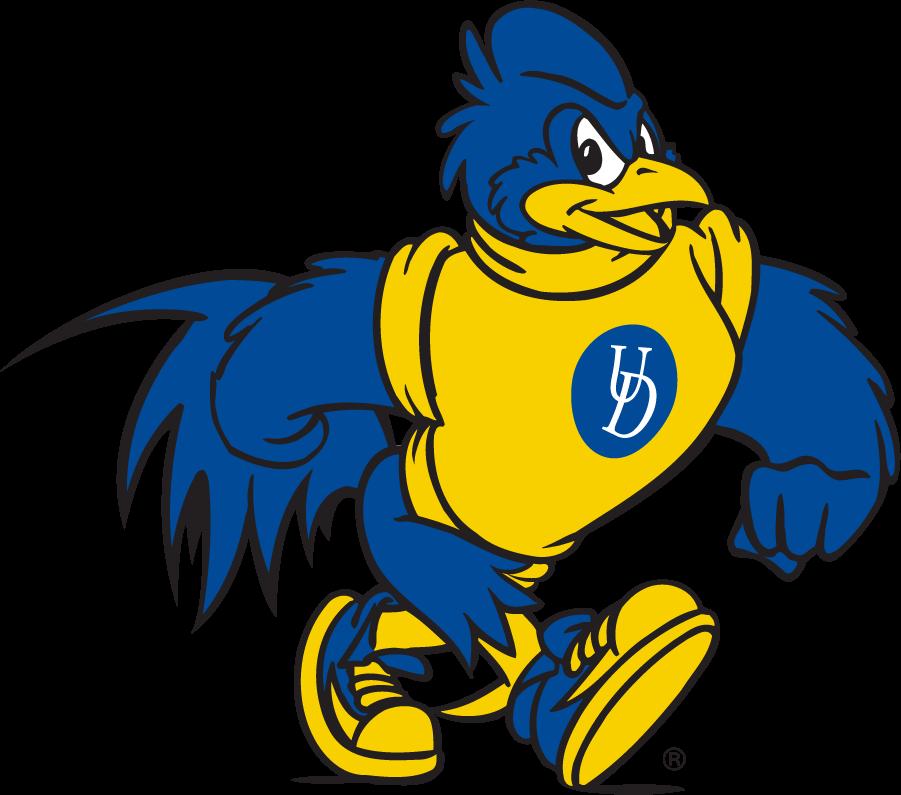 Delaware Blue Hens Logo Mascot Logo (2018-Pres) - Struttin\' YoUDee SportsLogos.Net