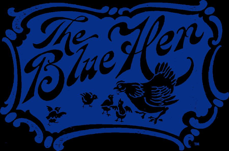 Delaware Blue Hens Logo Primary Logo (1939-1955) -  SportsLogos.Net