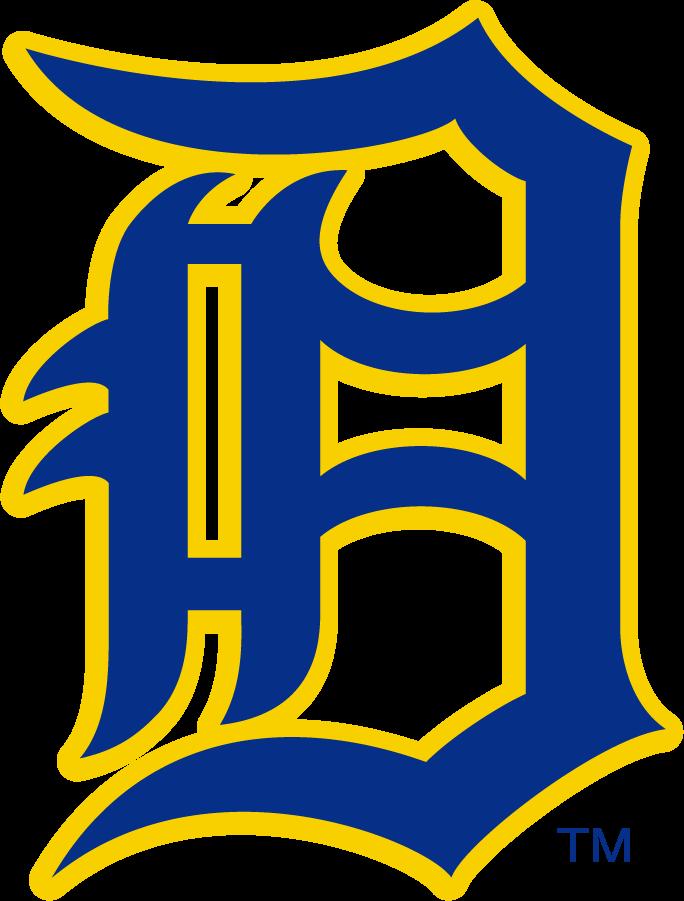 Delaware Blue Hens Logo Primary Logo (1955-1967) -  SportsLogos.Net