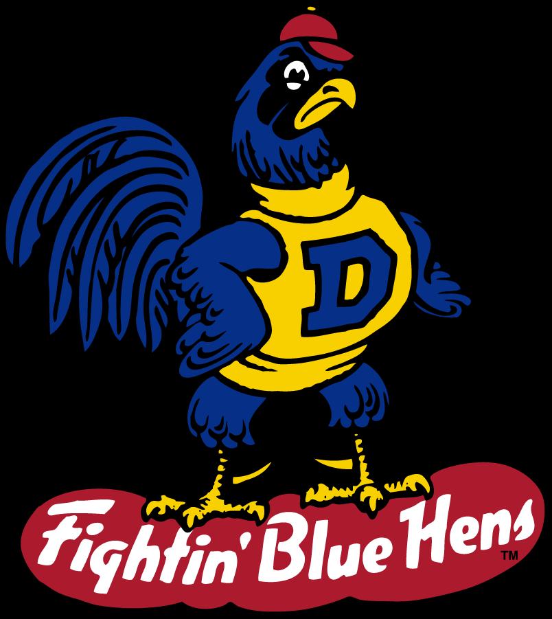 Delaware Blue Hens Logo Primary Logo (1967-1987) -  SportsLogos.Net